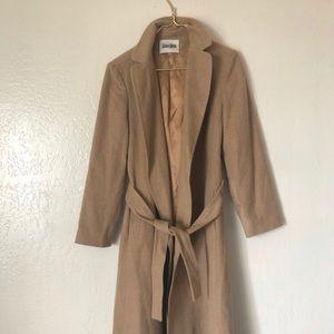 Neiman Marcus Camel Hair Trench Coat